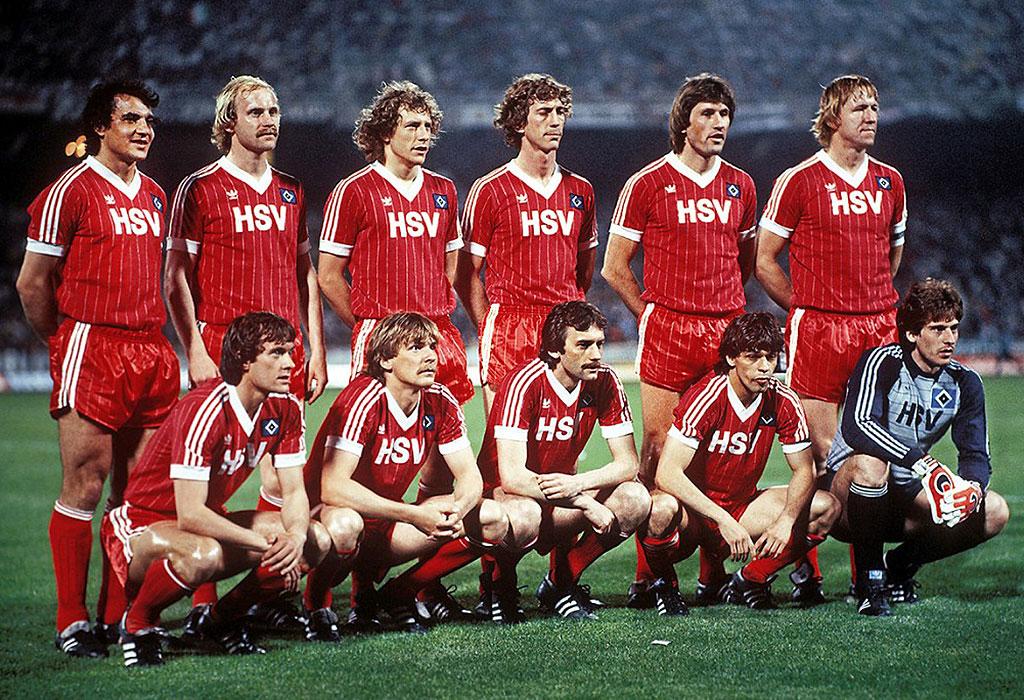 83' Avrupa şampiyonu Hamburg